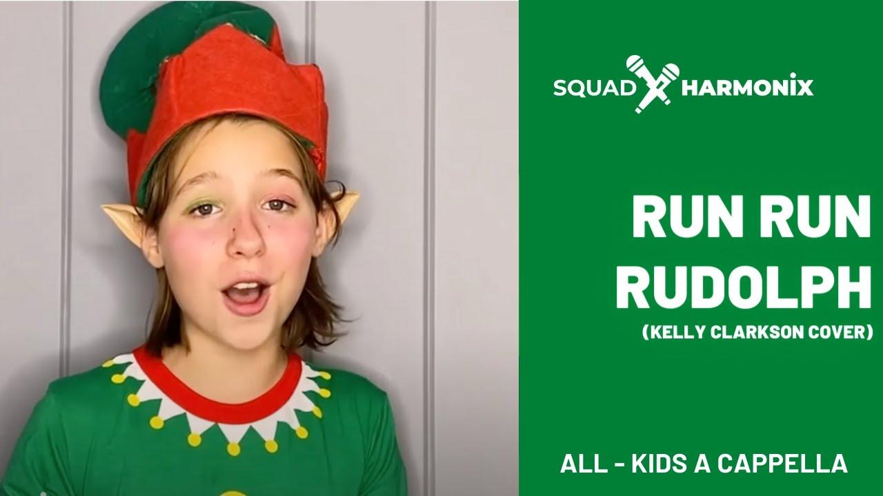 Run Run Rudolph by Kelly Clarkson // Squad Harmonix A Cappella Cover
