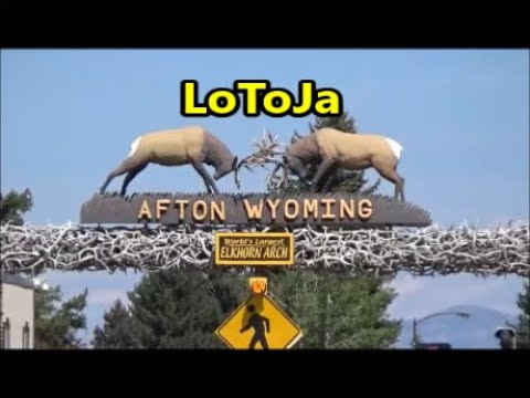 LOTOJA.  Afton, Wyoming feed zone #5