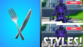 Here's Why The FORK KNIFE is Getting a FREE EDITABLE Style in Fortnite..