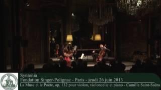 Saint Saëns, La Muse et le Poète - Syntonia