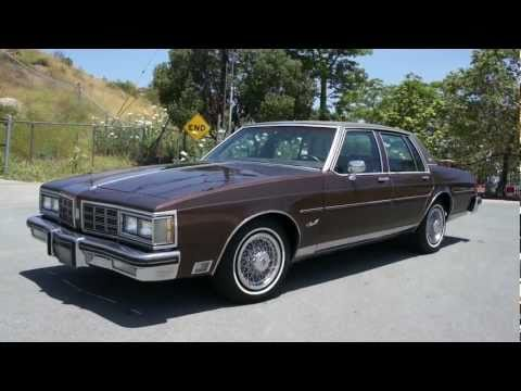 2 Owner 1983 Oldsmobile Delta 88 Royal Brougham