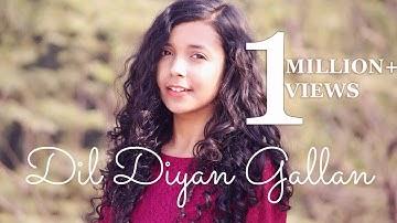 Dil Diyan Gallan ( Cover ) | Tiger Zinda Hai | Female Version By Shreya Karmakar ft. Aasim Ali
