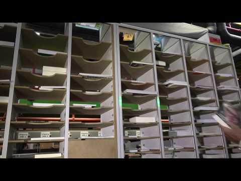 Material Handling dag 2016: Pick to Light van Maas Internal Logistix