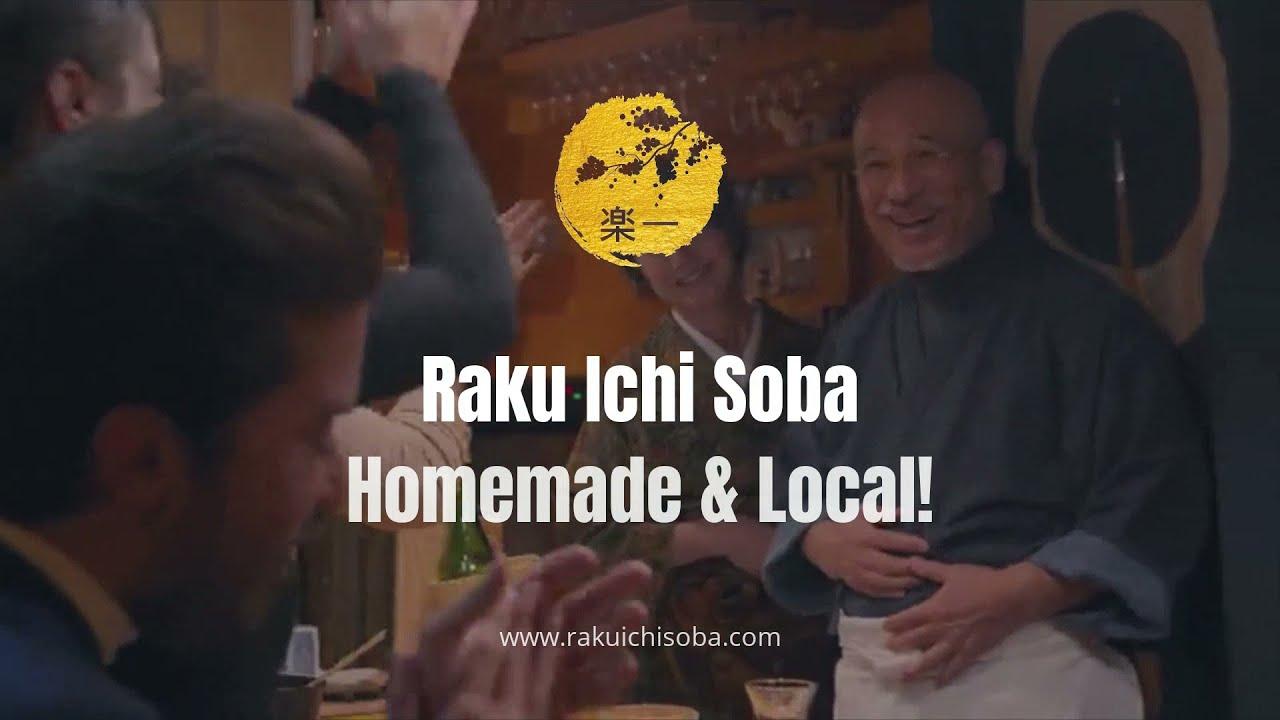 "Netflix's ""The Worlds Best Vacation Homes"" visited our famous Raku Ichi Restaurant in Niseko!"