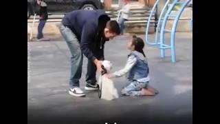 ДЕТИ И СОБАКА социальный експеремент  Children And Dog Social Experiment