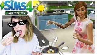 Ich lerne kochen bei Sims4 Jahreszeiten im Sommer!