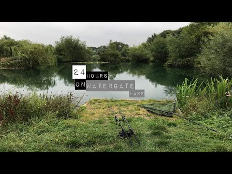 24hrs On Watergate Lake || Day Ticket Carp Fishing || Martyns Angling Adventures