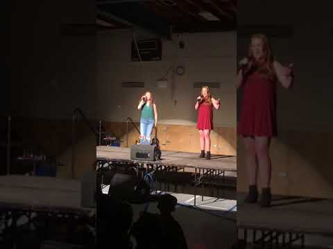 """""""Give it Up"""" (Victorious) cover by Antonia Doyle and Qiana"""