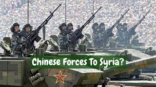 Why does China move to take part in Idlib offensive?