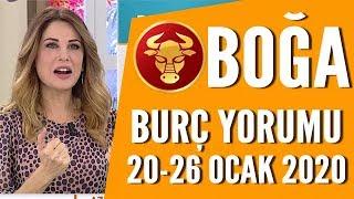 BOĞA BURCU | 20 Ocak - 26 Ocak | Hande Kazanova'dan haftalık burç yorumları