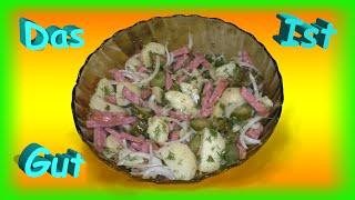 Немецкий картофельный салат, готовим сами