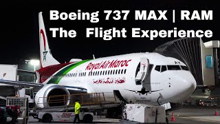 Flying the Boeing 737 MAX ! Royal Air Maroc CN-MAX | The Flight Experience  | CMN to NTE