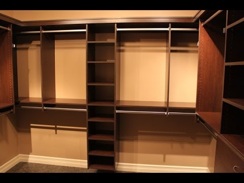 Inspiring ideas of diy walk in closet plans youtube - Walk in closet design ideas plans ...