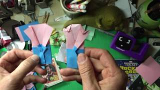 How to make Origami Spock