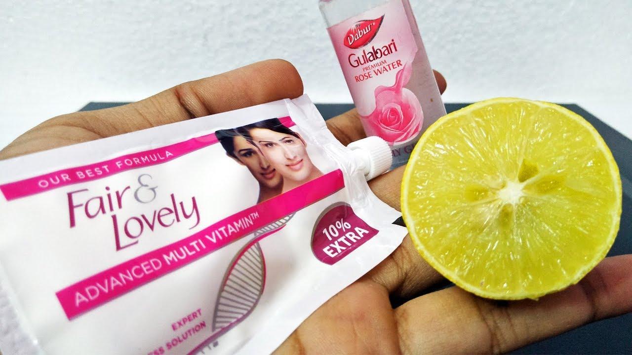 Best Uses Of Fair & Lovely Rose Water Lemon  DIY Beauty Life