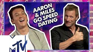 Miles Teller & Aaron Eckhart Go Speed Dating! | MTV Movies