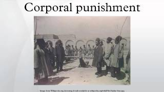 Corporal punishment