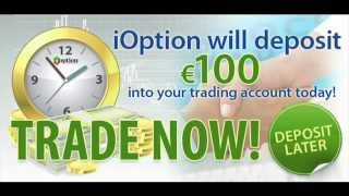 binary options no deposit bonus - free $100 ioption no deposit bonus Thumbnail