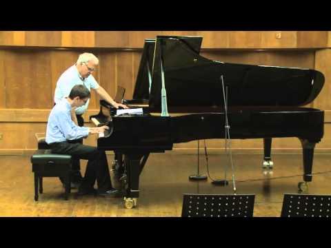 Masterclass with Joseph Kalichstein (Yishai Rubin, piano)