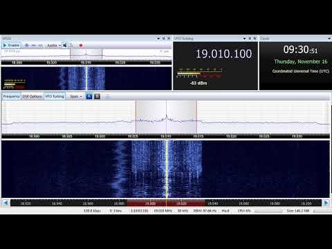 16 11 2017 Radio Free Afghanistan in Pashto to WeAs 0930 on 19010 Kuwait