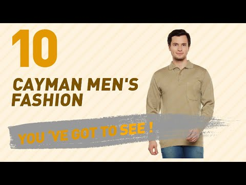 Cayman Men's Fashion // New & Popular India 2017
