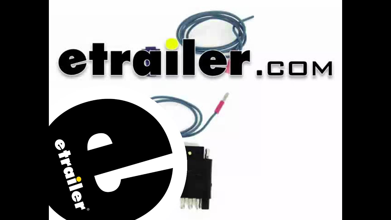 2008 Buick Enclave 5 Wire Trailer Wiring Diagram 48 Subaru Tribeca Diagrams Maxresdefault Installation Of The Hopkins Adapter On A 2014 Gmc