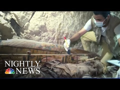 Two Ancient Egyptian Tombs Found In Luxor | NBC Nightly News