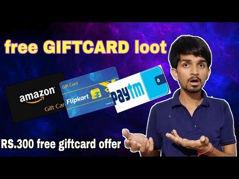 Paytm/amazon RS.300 free giftcard offer , amazon gift voucher offer , upcoming offer