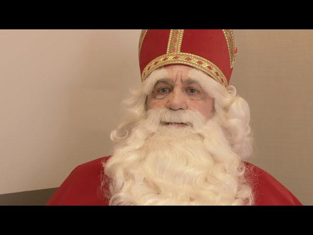 Boodschap van Sinterklaas