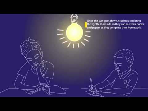 Solar Lights for Students in Lesotho