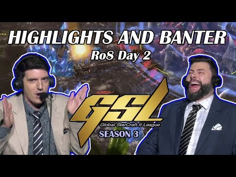 Tasteless And Artosis - StarCraft II - GSL 2019 Season 3 Ro. 8 Day 2 - Highlights And Banter