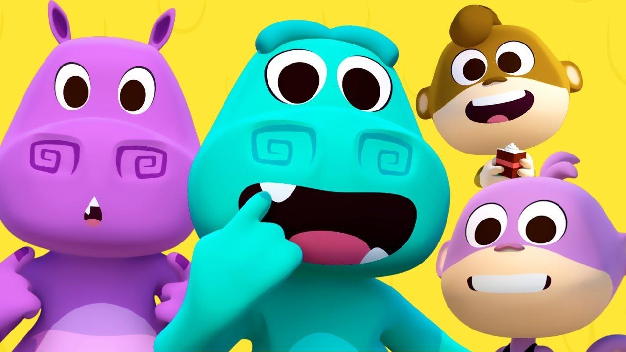 Canción del Cocodrilo y El Hipopótamo - Canciones del Zoo 5 | El Reino Infantil