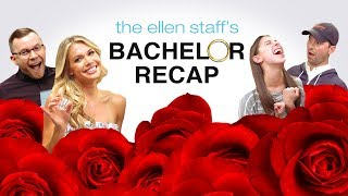 The Ellen Staff's 'Bachelor' Recap Special: Krystal Plays Truth or Shot!