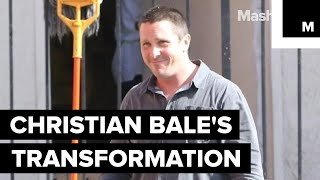 Christian Bale is Almost Unrecognizable