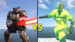 Fallout 4 - 100 Brotherhood of Steel VS 50 Ghouls - Battles #11