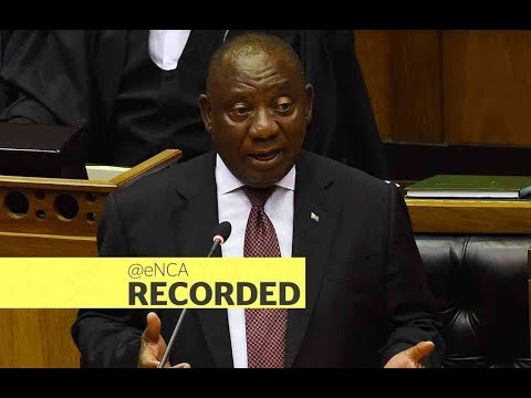 President Cyril Ramaphosa to field questions in Parliament
