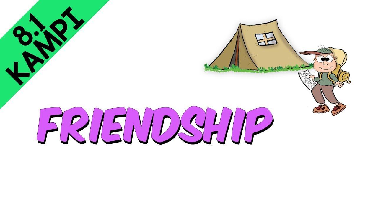 8sınıf Ingilizce Friendship 81 Kampı Youtube