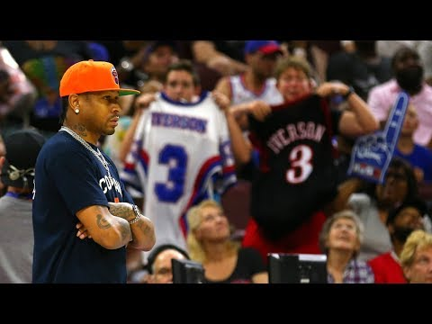Allen Iverson Fans PISSED After Skipping Big3 Philly Homecoming Game