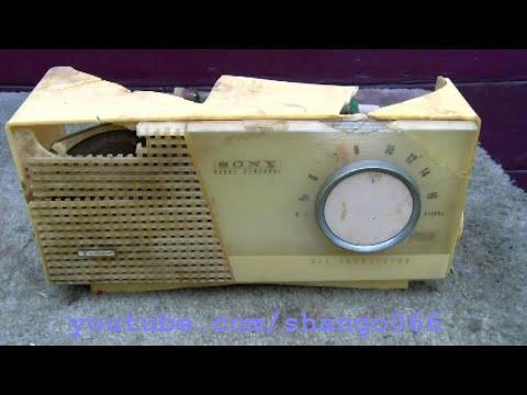 Sony TR712 AM Table Radio Resurrection TR 712