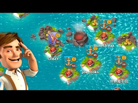 Boom Beach HOW MANY BASES CAN WE DESTROY in 10 MINUTES?!