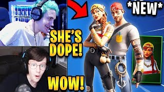 Streamers React to *NEW* Aura & Guild Skins! | Fortnite Highlights ...