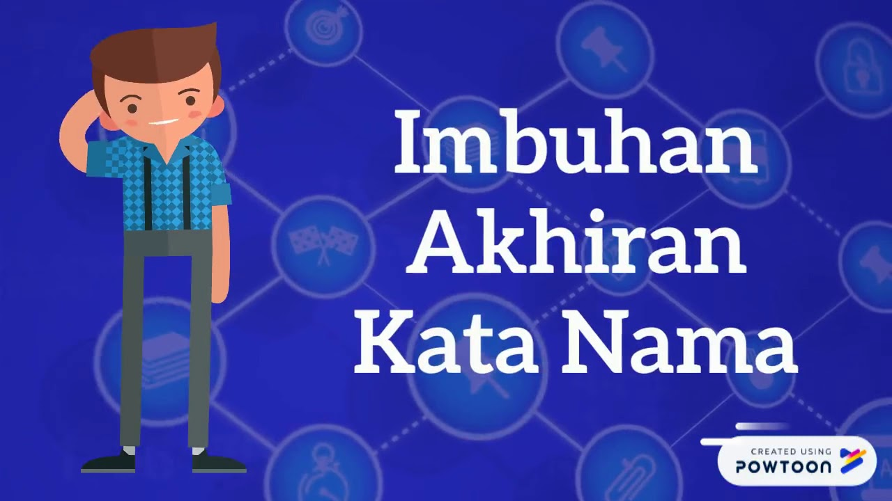 Imbuhan Kata Nama   YouTube