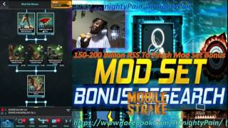 Mobile Strike Ep 250 The Real Cost Of Mod Set Research Is Insane Beware 150-200B RSS To Complete