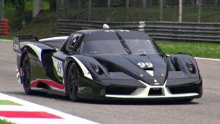 Ferrari FXX Evolution PURE SOUND!
