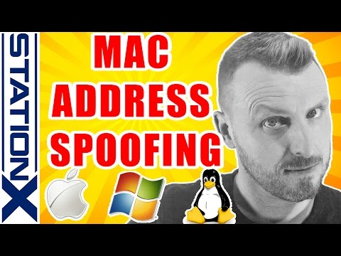 Mac Address Spoofing on Windows, Mac OS X and Linux