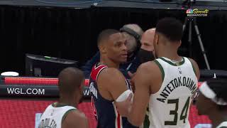 This Giannis-Russell Westbrook Interaction Was Comedy