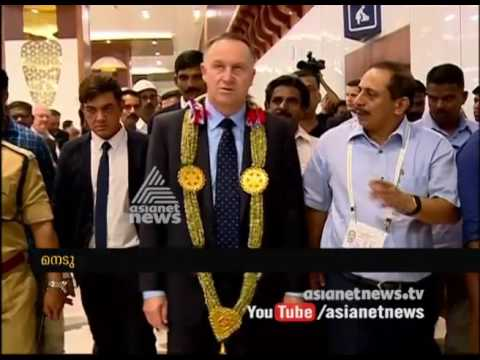 New Zealand PM visits Kochi airport |