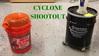 Dustopper VS. Dust Deputy // Cyclone Shootout