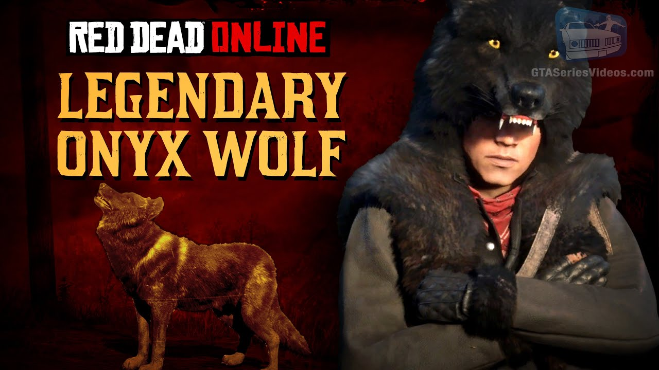 Red Dead Online - Legendary Onyx Wolf Location [Animal Field Guide]
