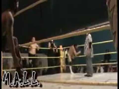 m.a.l.l.-6-man-tag-team-match